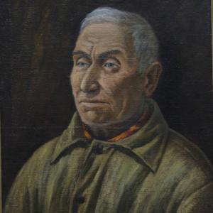 Портрет дяди Лёни. х.м.,  50х60, 2005 г.