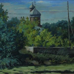 Этюд. х.м., 50х60, 2010 г.
