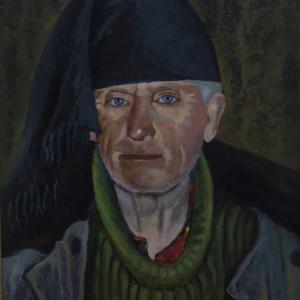 Портрет Валерия Ивановича. х.м., 40х50, 2014 г.