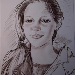Блиц-портрет девочки