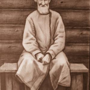 Крестьянин  (портрет с фото)